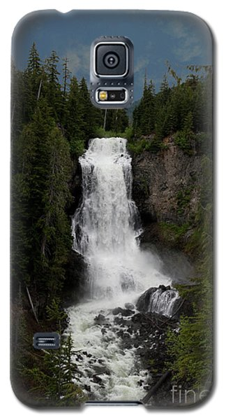 Galaxy S5 Case featuring the photograph Alexander Falls by Rod Wiens