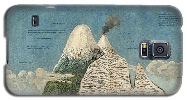 Alexander Von Humboldts Chimborazo Map Galaxy S5 Case