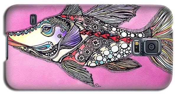 Alexandria The Fish Galaxy S5 Case