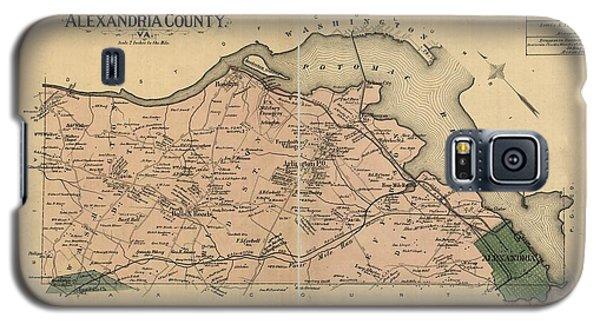 Alexandria Virginia 1878 Galaxy S5 Case by Joseph Hawkins