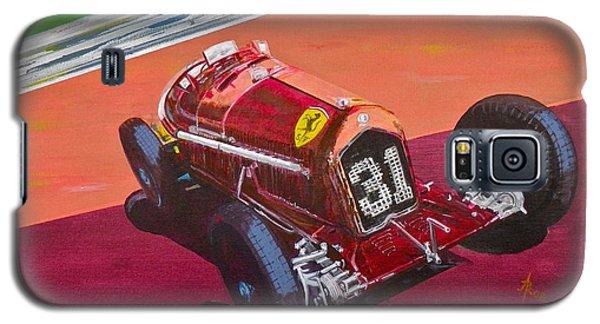 Galaxy S5 Case featuring the painting Alfa Romeo Tipo B P3  by Anna Ruzsan