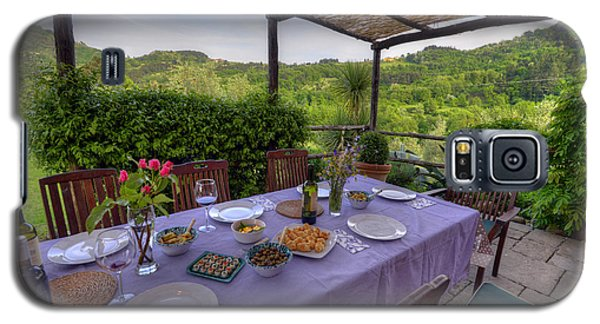 Alfresco Dining In Tuscany Galaxy S5 Case