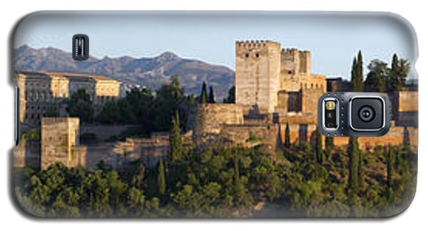 Galaxy S5 Case featuring the photograph Alhambra Palace - Panorama by Nathan Rupert