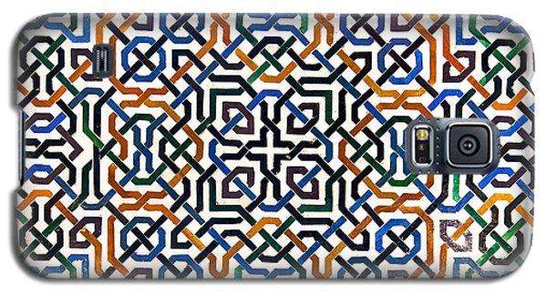 Alhambra Tile Detail Galaxy S5 Case by Jane Rix