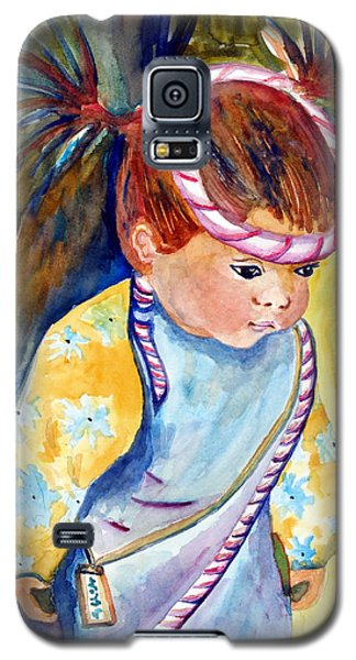 Ali Learns To Bow Galaxy S5 Case