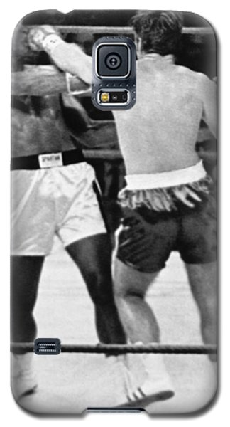 Boxing Muhammad Ali Galaxy S5 Case - Ali-quarry Fight by Underwood Archives