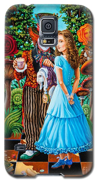 Alice And Mad Hatter. Part 2 Galaxy S5 Case
