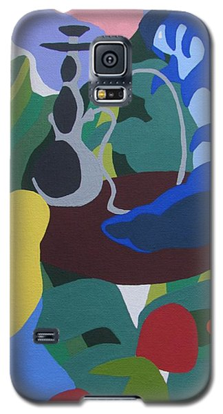 Alice And The Blue Caterpillar Galaxy S5 Case