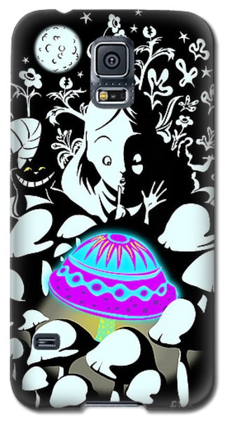 Alice's Magic Discovery Galaxy S5 Case by Sassan Filsoof