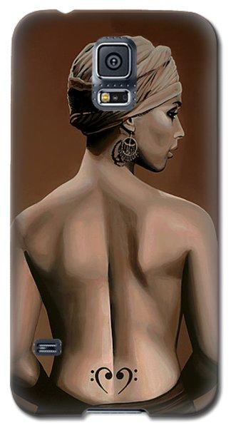Rhythm And Blues Galaxy S5 Case - Alicia Keys  by Paul Meijering