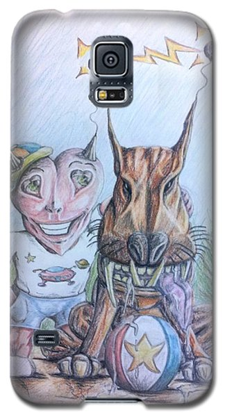 Alien Boy And His Best Friend Galaxy S5 Case