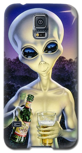 Alien Brew Galaxy S5 Case by Steve Read