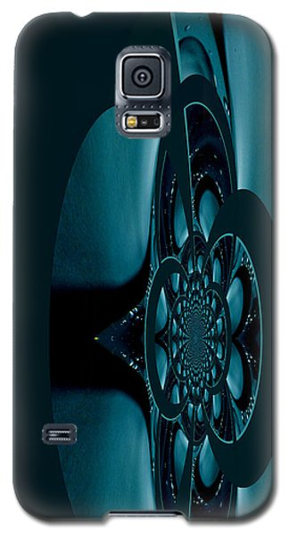 Galaxy S5 Case featuring the painting Alien Craft Iphone Case by Robert Kernodle