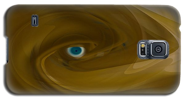 Galaxy S5 Case featuring the digital art Alien Eye - Abstract by rd Erickson