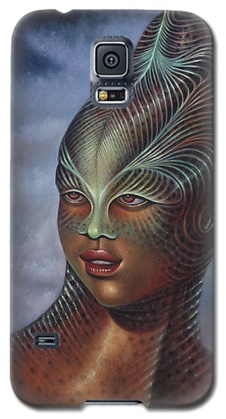 Alien Portrait I Galaxy S5 Case