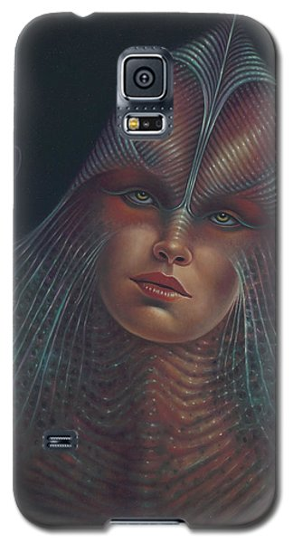 Alien Portrait Il Galaxy S5 Case