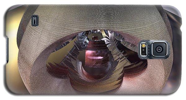 Galaxy S5 Case featuring the digital art Alien Spacecraft by Melissa Messick