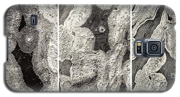 Alien Triptych Landscape Bw Galaxy S5 Case