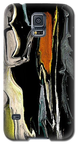 Galaxy S5 Case featuring the digital art Alien Women In The Sky by Sherri  Of Palm Springs