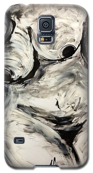 Galaxy S5 Case featuring the drawing Alive by Helen Syron