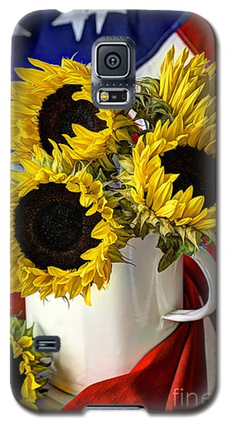 All American Sunflowers Galaxy S5 Case