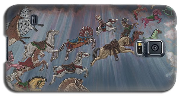 All Good Horses Go To Heaven Galaxy S5 Case