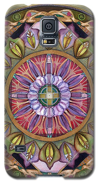 All Is Well Mandala Galaxy S5 Case