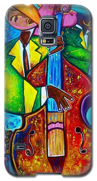 Galaxy S5 Case featuring the painting All New by Emery Franklin