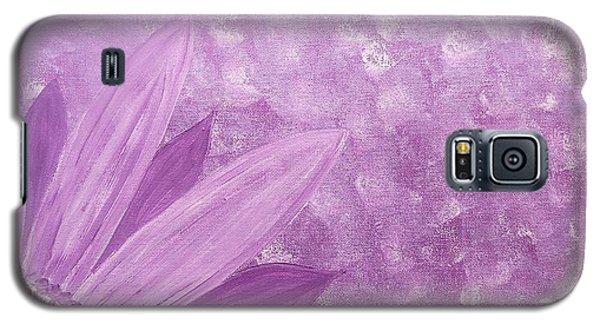 All Purple Flower Galaxy S5 Case