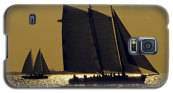 All Sails Sunset In Key West Galaxy S5 Case