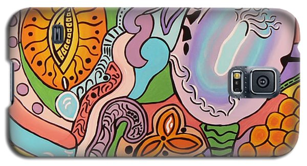 All Seeing Egg Salad Galaxy S5 Case by Barbara St Jean