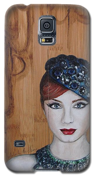 Galaxy S5 Case featuring the painting All That Girls Love 3 by Malinda  Prudhomme