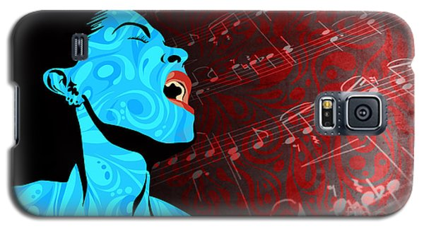 All That Jazz Galaxy S5 Case by Sassan Filsoof