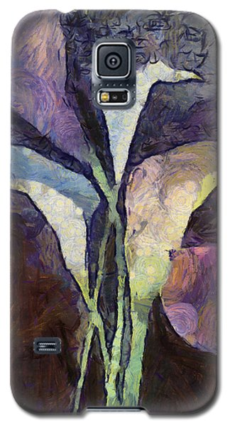 Galaxy S5 Case featuring the painting All The Sadness by Joe Misrasi