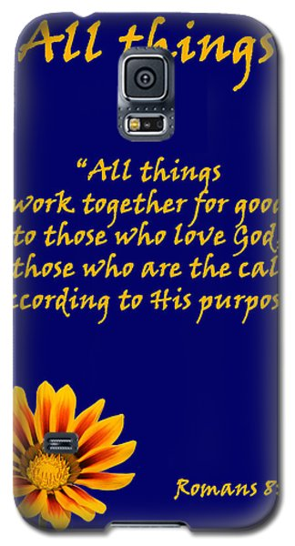 All Things Romans Chapter Eight Verse Twenty Eight. Galaxy S5 Case