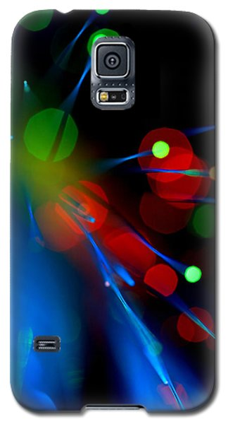 Galaxy S5 Case featuring the photograph All Through The Night by Dazzle Zazz