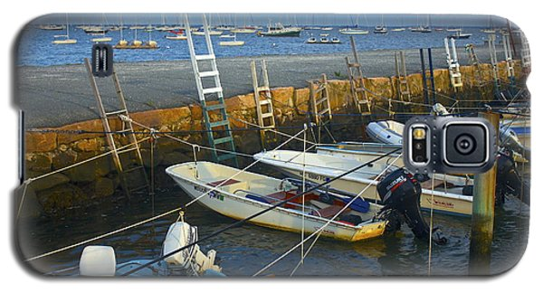 Galaxy S5 Case featuring the photograph All Tied Up In Mattapoisett by Amazing Jules