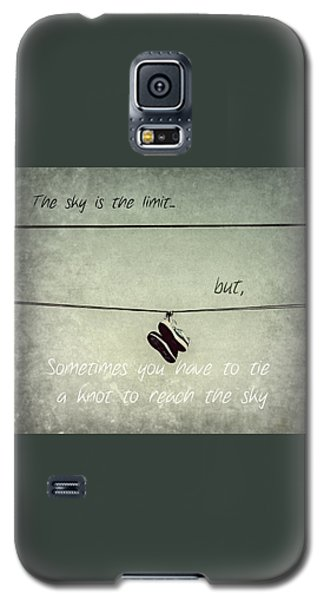All Tied Up Inspirational Galaxy S5 Case by Melanie Lankford Photography