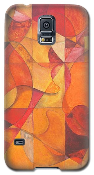 Galaxy S5 Case featuring the painting All You Need Is Faith To Hear by Rick Ahlvers
