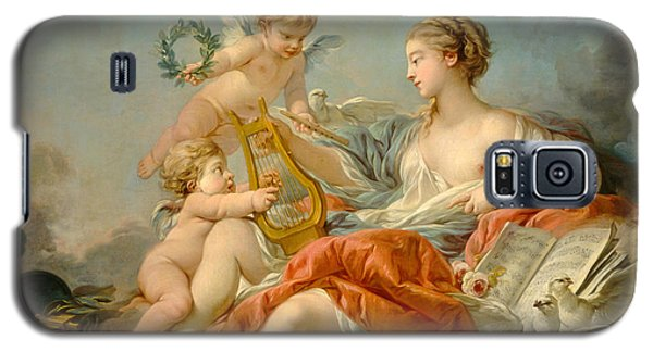 Allegory Of Music Galaxy S5 Case by Francois Boucher