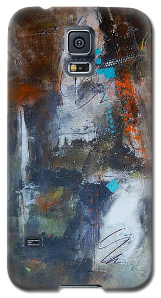 Galaxy S5 Case featuring the painting Allegory by Ron Stephens