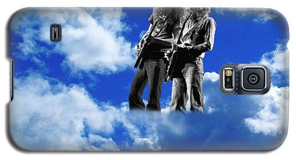 Galaxy S5 Case featuring the photograph Allen And Steve In Clouds by Ben Upham