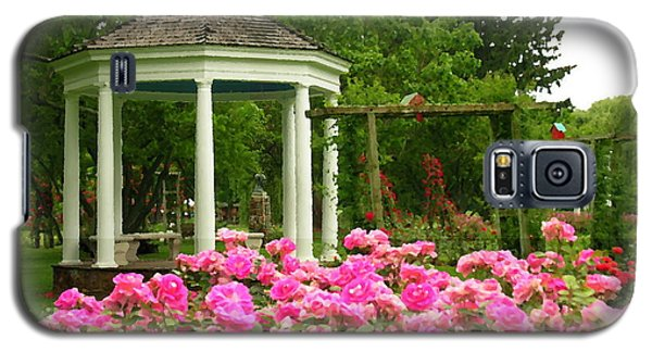 Allentown Pa Gross Memorial Rose Gardens Galaxy S5 Case by Jacqueline M Lewis
