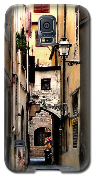 Alley In Florence 1 Galaxy S5 Case by Jennie Breeze