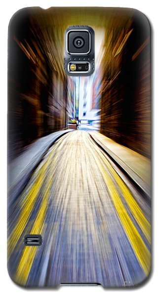 Alleyway With Motion Galaxy S5 Case by Craig B