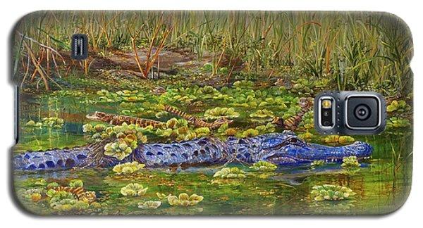 Alligator Pod Galaxy S5 Case by AnnaJo Vahle