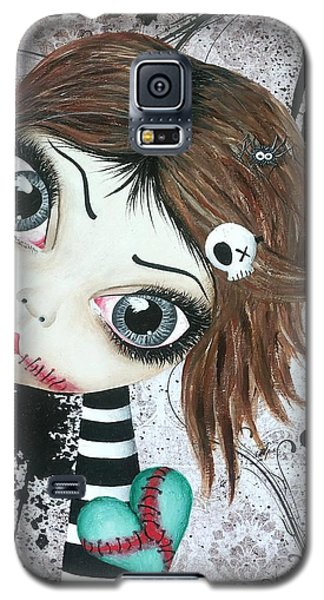 Almost A Ghost Galaxy S5 Case by Oddball Art Co by Lizzy Love