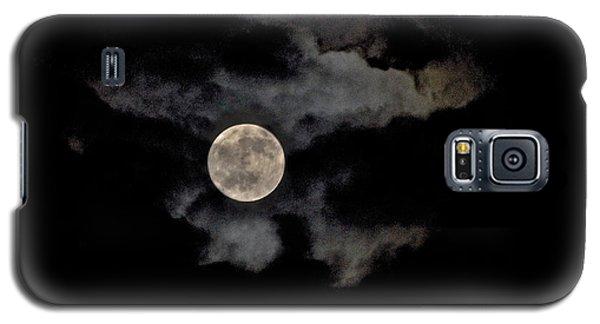 Almost Full Moon Galaxy S5 Case by Joe  Burns