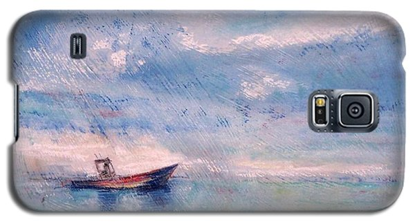 Galaxy S5 Case featuring the painting Almost Home by Mary Lynne Powers