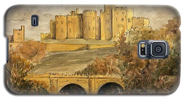 Castle Galaxy S5 Case - Alnwick Castle by Juan  Bosco